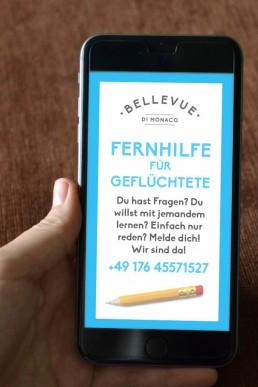 FERNHILFE FÜR GEFLÜCHTETE